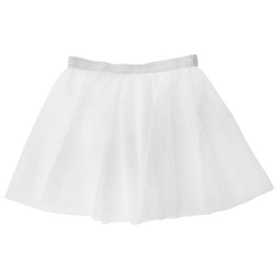 Юбочка гимнастическая, сетка, размер 32-34 (S), цвет белый