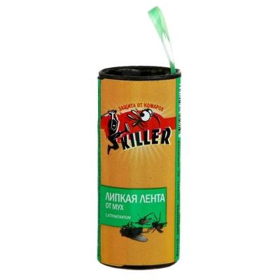 """Липкая лента от мух """"Киллер"""", 1 ш"""