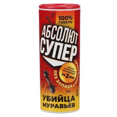 Средство от муравьев АБСОЛЮТ СУПЕР, в банке 200 г