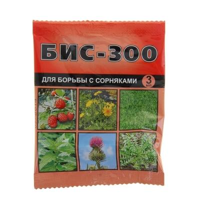 Средство БИС-300 для борьбы с сорняками 3мл