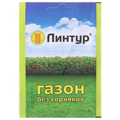 Средство от сорняков на газонах Линтур, 1,8 г