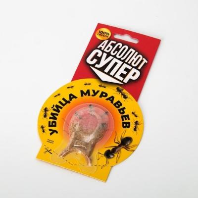 """Приманка от муравьев """"Абсолют"""", Супер, в форме рыбки, 1 шт"""