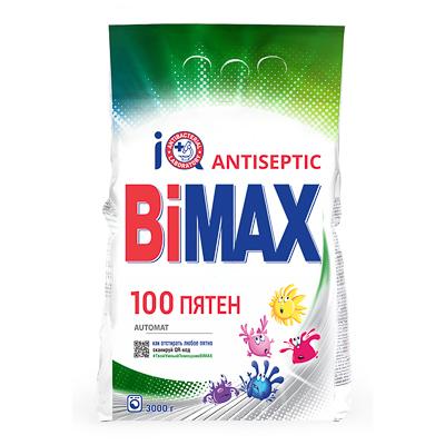 Стиральный порошок BiMax 100 пятен автомат п/у 3кг арт. 922-1/966-1