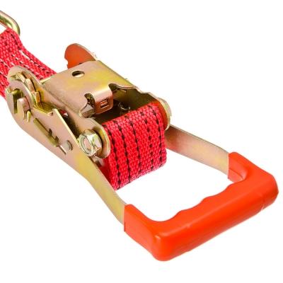NEW GALAXY Стяжка груза с храповиком 230мм, 12м, шир.ленты 55мм, 5000/10000кг