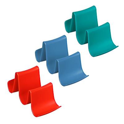 VETTA Подставка для крышек и ложек 12,5х7,5х6х5см, пластик, 3 цвета