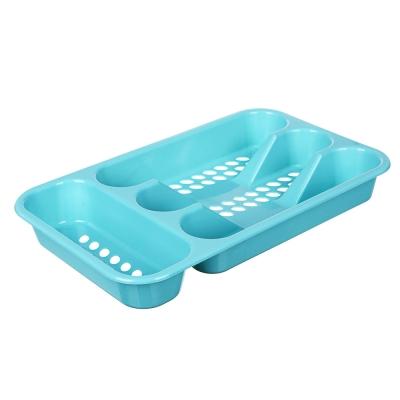 Сушилка для столовых приборов, 4 секц, пластик, 33х19,5х4,5см,