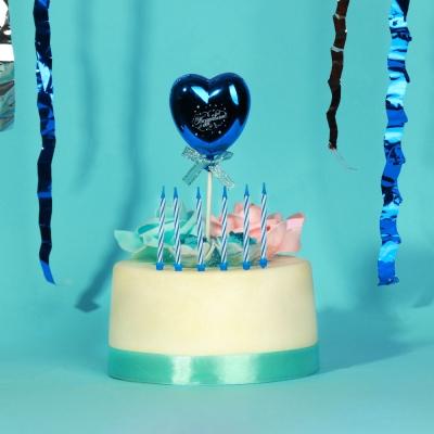 Капитан Весельчак Свечи для торта 24 шт, 4 цвета