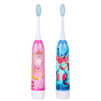 FORZA Зубная щетка электрическая детская, 18х2,6х2,6см, 1АА, 2 цвета