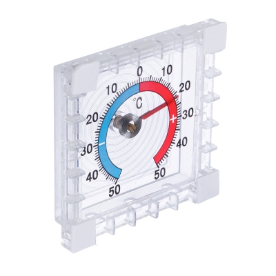 INBLOOM Термометр оконный Биметаллический (-50 +50), блистер