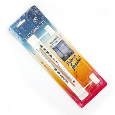 Термометр оконный Липучка (-50 +50) Т223 картон. блистер