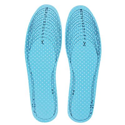 Стельки для обуви, антибактериальные, универсальные, хлопок, латекс р-р. 35-46