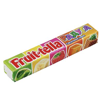 Жевательные конфеты Фруттелла Радуга, ананас, 41г