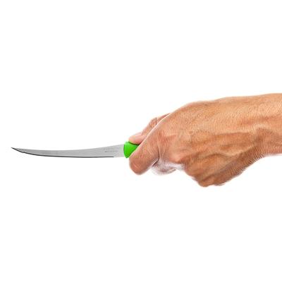 Tramontina Athus Нож для томатов 12.7см, зеленая ручка 23088/025