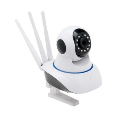 Видеокамера WiFi LuazON, CAM-06, управление со смартфона, 1.3Мп, поворот 355, microSD, белая