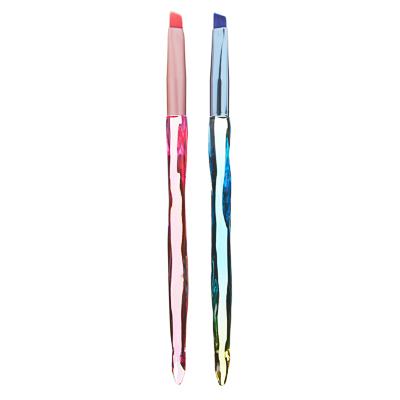 ЮниLook Кисть для бровей, акрил, металл, ворс нейлон, 14,9см, 1-2 дизайна