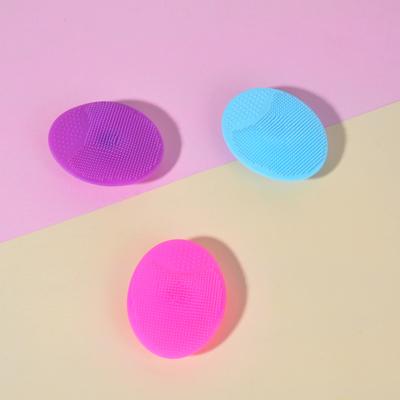 ЮниLook Щеточка для умывания, силикон, 6,5х5см, 3 цвета