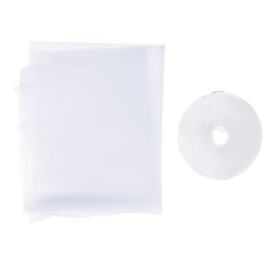 Москитная сетка для окон с крепежной лентой 1,5х2м, в пакете 37х17х2