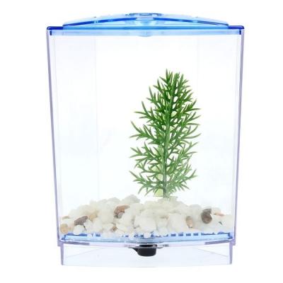 Аквариумный набор: отсадник с грунтом и растением