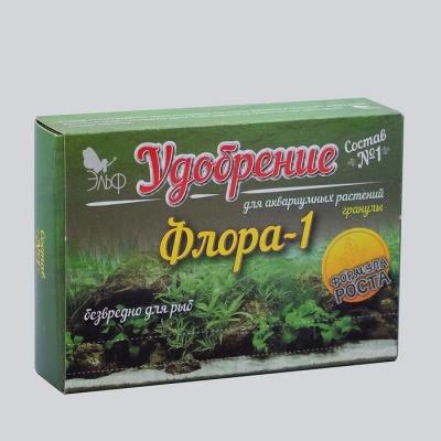 """Удобрения для аквариумных растений """"Флора-1"""" состав №1, гранулы, 100 г"""