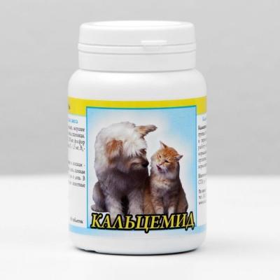 """Витамины """"Кальцемид"""" для кошек и собак, 80 таб"""