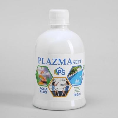 Дезинфицирующее средство Plazmasept aqua plus для аквариумов, 500 мл