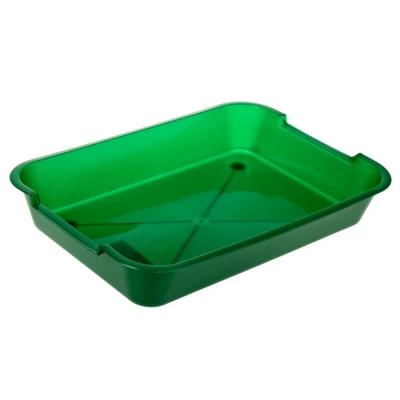 Туалет средний, без сетки, 36 х 26 х 6,5 см, зеленый